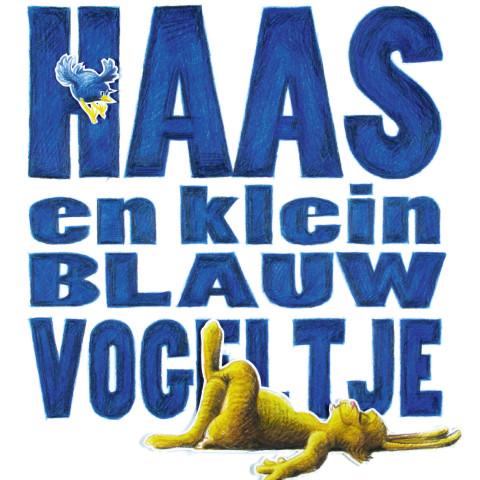 Voorblad Haas en Klein Blauw Vogeltje