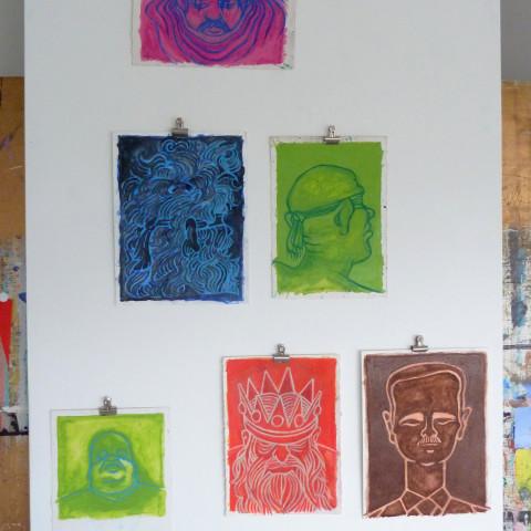 Atelier tekeningen